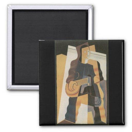 Juan Gris - Pierrot Refrigerator Magnets