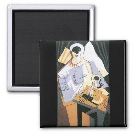 Juan Gris - Pierrot Magnets