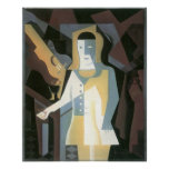 Juan Gris - Pierrot Posters