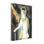 Juan Gris - Pierrot Stretched Canvas Prints