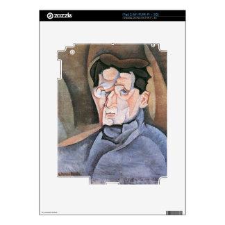 Juan Gris - Portrait Maurice Raynal iPad 2 Skins