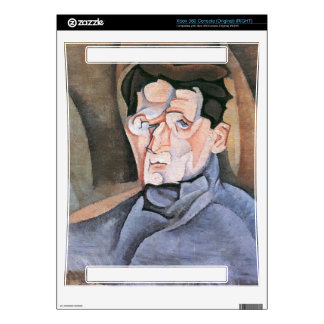 Juan Gris - Portrait Maurice Raynal Skin For The Xbox 360