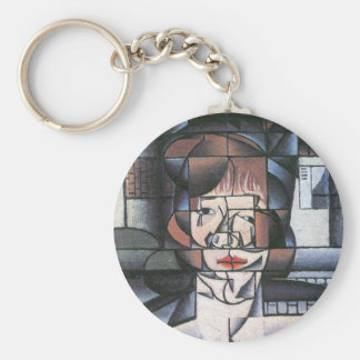 Juan Gris - Portrait of Madame Germaine Raynal Key Chains