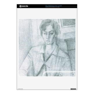 Juan Gris - Portrait of Madame Hiudobro PS3 Slim Decals