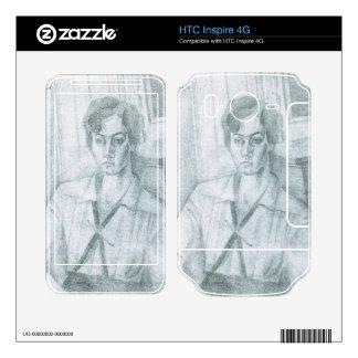 Juan Gris - Portrait of Madame Hiudobro Skin For HTC Inspire 4G