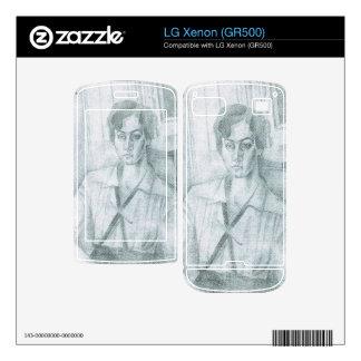 Juan Gris - Portrait of Madame Hiudobro Skin For LG Xenon
