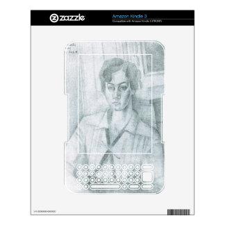 Juan Gris - Portrait of Madame Hiudobro Skin For The Kindle