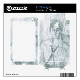 Juan Gris - Portrait of Madame Hiudobro Decal For HTC Imagio