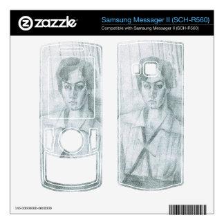 Juan Gris - Portrait of Madame Hiudobro Samsung Messager II Skins
