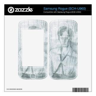 Juan Gris - Portrait of Madame Hiudobro Skin For Samsung Rogue