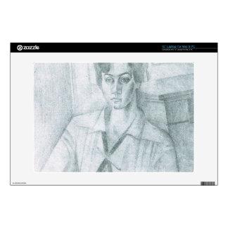 Juan Gris - Portrait of Madame Hiudobro Laptop Skin