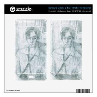 Juan Gris - Portrait of Madame Hiudobro Samsung Galaxy S II Skins