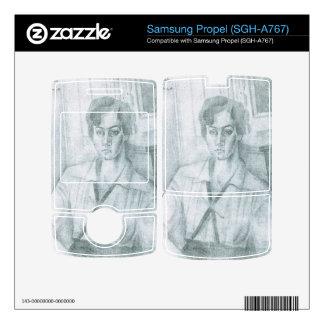 Juan Gris - Portrait of Madame Hiudobro Samsung Propel Decals