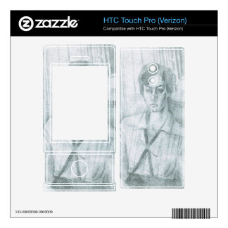 Juan Gris - Portrait of Madame Hiudobro HTC Touch Pro Skin