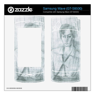 Juan Gris - Portrait of Madame Hiudobro Samsung Wave Decals