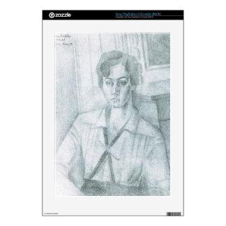 Juan Gris - Portrait of Madame Hiudobro Skin For PS3