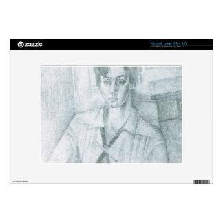 Juan Gris - Portrait of Madame Hiudobro Netbook Decal