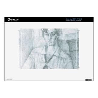 Juan Gris - Portrait of Madame Hiudobro Skins For Motorola XOOM