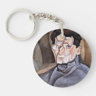 Juan Gris- Portrait of Maurice Raynal Acrylic Keychains