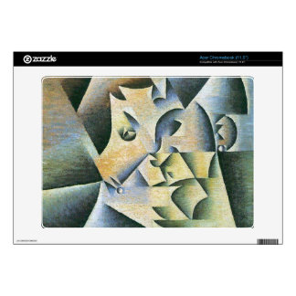 Juan Gris - Portrait of the mother of the artist Acer Chromebook Decals