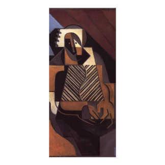 Juan Gris- Seated Peasant Woman Rack Card Template