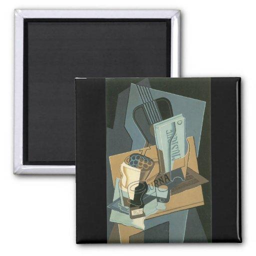 Juan Gris - Sheet of Music Fridge Magnets