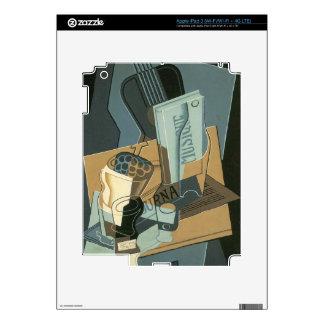 Juan Gris - Sheet of Music Skins For iPad 3