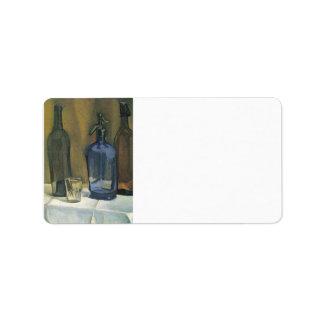 Juan Gris - Siphon and bottles Label