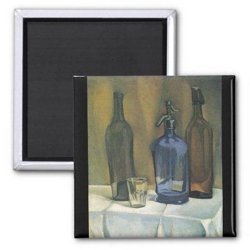 Juan Gris - Siphon and bottles Magnet