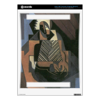 Juan Gris - Sitting peasant woman Xbox 360 Console Decals