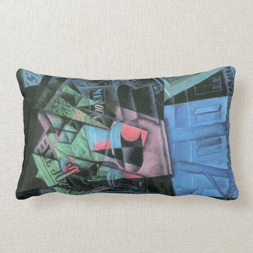 Juan Gris - Still life and urban landscape Throw Pillows