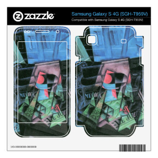 Juan Gris - Still life and urban landscape (Place Samsung Galaxy S 4G Skin