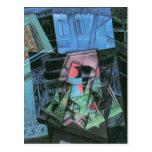 Juan Gris - Still life and urban landscape Postcard