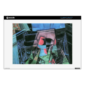 Juan Gris - Still life and urban landscape Laptop Skin