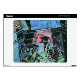 Juan Gris - Still life and urban landscape Skins For Laptops