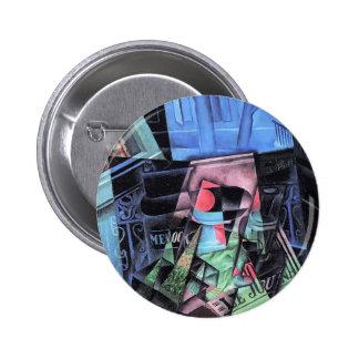 Juan Gris- Still Life before an Open Window Pinback Buttons
