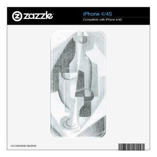 Juan Gris - Still Life Decals For The iPhone 4S
