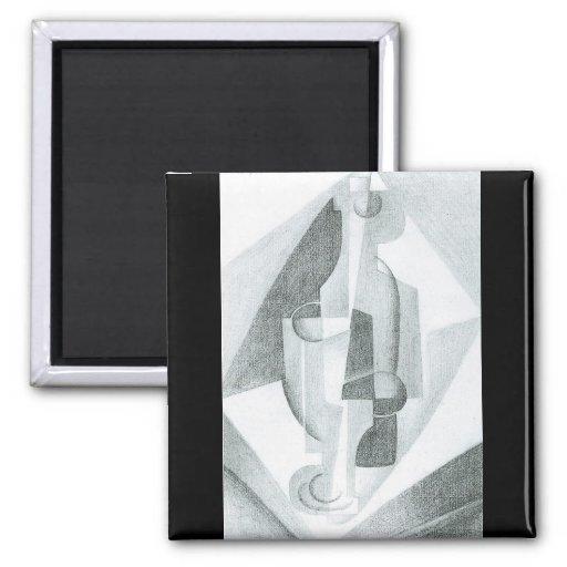Juan Gris - Still Life Refrigerator Magnet