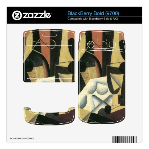 Juan Gris - Still Life with a white tablecloth BlackBerry Bold 9700 Skin