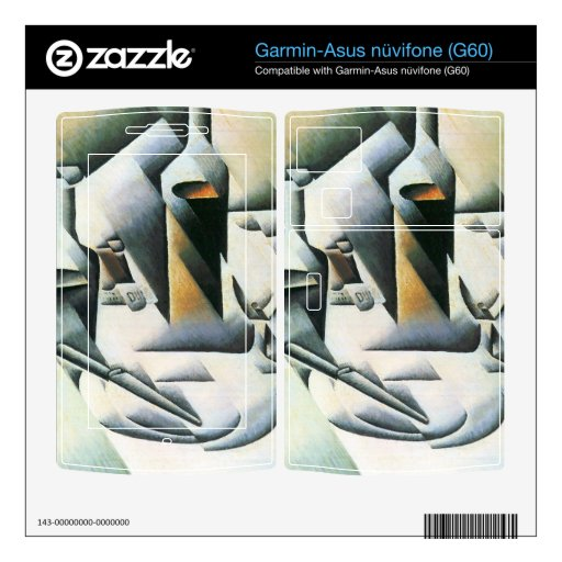 Juan Gris - Still Life with bottles and knives Garmin Asus Nuvifone Skins