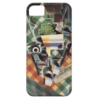 Juan Gris- Still Life with Checked Tablecloth iPhone 5 Covers