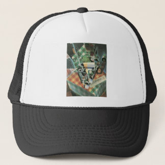 Juan Gris - Still Life with checked tablecloth Trucker Hat