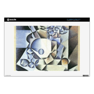 Juan Gris - Still Life with Flowers Decal For Laptop