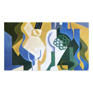 Juan Gris- Still lifewith fruitbowl andmandolin Double-Sided Standard Business Cards (Pack Of 100)