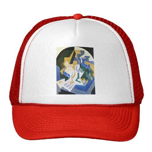 Juan Gris- Still lifewith fruitbowl andmandolin Mesh Hat