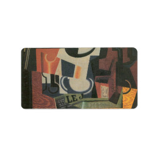 Juan Gris - Still Life with Fruit Bowl Label