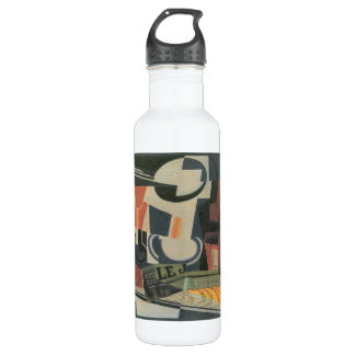 Juan Gris - Still Life with Fruit Bowl Stainless Steel Water Bottle
