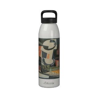 Juan Gris - Still Life with Fruit Bowl Water Bottles