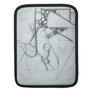 Juan Gris - Still Life with glass and board game Sleeve For iPads