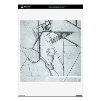 Juan Gris - Still Life with glass and board game Skin For PS3 Slim